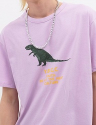 [youthbath] Dinosaur graphic Sweatshirt purple