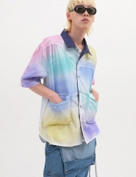 [youthbath] rainbow short-sleeve shirt mix