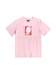 [ulkin] UL:KIN ARTIST T-SHIRTS_TIMBER LOVE_PINK