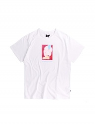 [ulkin] UL:KIN ARTIST T-SHIRTS_TIMBER LOVE_WHITE