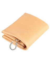 [AGINGCCC] 22# C FOLD WALLET - NATURAL