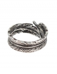 [AGINGCCC] 301# NAVAJO FEATHER RING