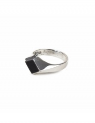 [AGINGCCC] 223# 92.5 SILVER ONYX RING-OD
