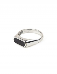 [AGINGCCC] 224# 92.5 SILVER ONYX RING-OR