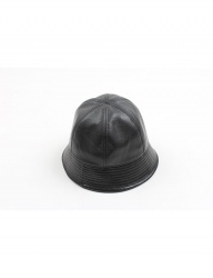 [AGINGCCC] 59# CALF SKIN SAILOR HAT