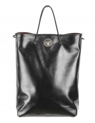 [AGINGCCC] 305# COWHIDE SHOPPER BAG-CONCHO