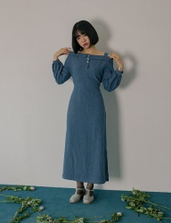 [PHILOCALY] Denim-off dress