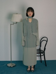 [PHILOCALY] N wing blouse