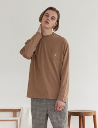 [TARGETTO] TGT POCKET LONG SLEEVE NEUTRAL BEIGE