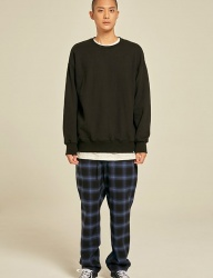 [PRAIRIE] COTTON CHECK PANTS