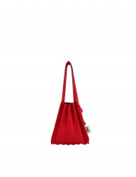 [JOSEPH&STACEY] Lucky Pleats Knit S BARBADOS RED