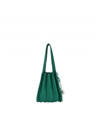 [JOSEPH&STACEY] Lucky Pleats Knit S JELLY GREEN