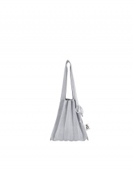 [JOSEPH&STACEY] Lucky Pleats Knit S Bling STARRY SILVER