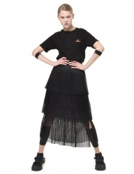 [PIGMILLION] can can wrinkle skirt