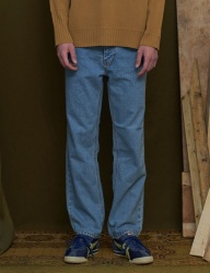 [UNALLOYED] PINTUCK JEANS [LIGHT BLUE]