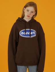 [NCOVER] Ncover hoodie-brown