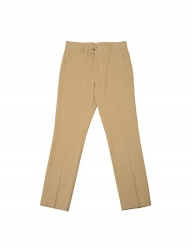 [SLOVEN MODE] Label Chino Pants [Light Beige]
