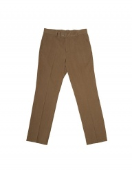 [SLOVEN MODE] Label Chino Pants [Light Brown]