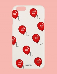 [NCOVER] Balloon-white (iphone)