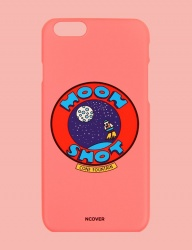 [NCOVER] Moon shot-pink (iphone)