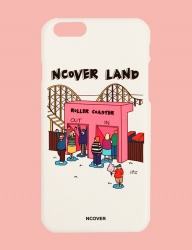 [NCOVER] Roller coaster-white (iphone)