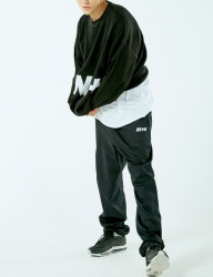 [NASTY KICK] NSTK SWITCH PANTS BLACK [NK18A036H]