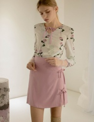 [SINOON] Softener two-piece (blouse+skirt)