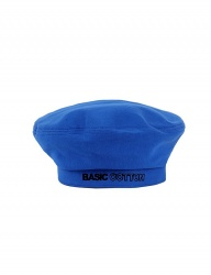 [BASIC COTTON] basic beret [blue]
