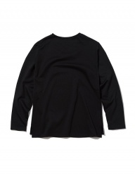 [INSILENCE] BASIC PONTE LONG SLEEVES (black)