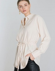[DIAGONAL] TENCEL STRING SHIRTS