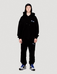 [WKNDRS] THE WEEKENDERS SWEAT PANTS (BLACK)