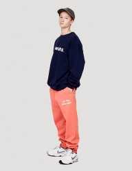 [WKNDRS] IDEA SWEAT PANTS (CORAL)