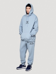 [WKNDRS] IDEA SWEAT PANTS (S.BLUE)