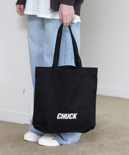 [CHUCK] CHUCK LOGO CANVAS SHOPPER BAG