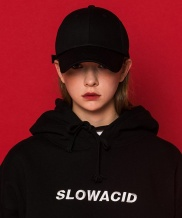 [SLOWACID] 2 Color Lettering Cap