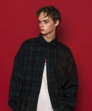 [SLOWACID] SCOTT Check Shirt Jacket