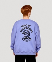 [WKNDRS] MAGIC MUSHROOMS CREWNECK (PURPLE)