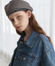 [1159STUDIO] CO SELVAGE BERET