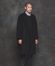 [PRAIRIE] HEAVY  WOOL OVERFIT ROBE COAT