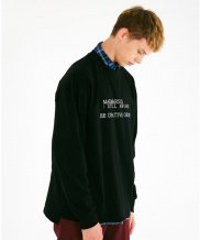 [MADMARS] BASIC DEFINITION LONGSLEEVE SHIRT