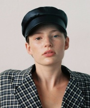 [AWESOME NEEDS] CLASSIC MARINE CAP_LEATHER