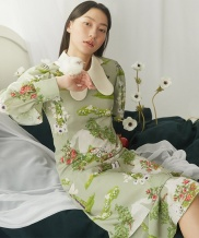[GOCORI] A Journey To The Green Bed Dress
