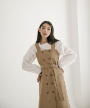 [NONLOCAL] Double Trench One-piece