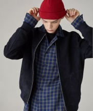 [SPERONE] Suede Blouson jacket