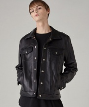 [SPERONE] Real Leather Tracker Jacket
