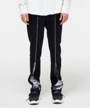 [THE GREATEST] GT18FW12 EFFECT ZIPUP PANTS