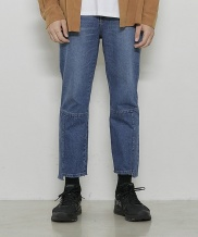 [DRUG WITHOUT SIDE EFFECT] Unbalance Crop Washing Jeans