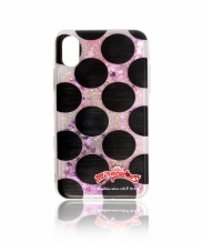 [FUZA] FUZA X MIRACULOUS GLITTER PHONECASE_MEDIUM DOT