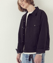 [ARTENO STUDIO] Solide Trucker Jacket