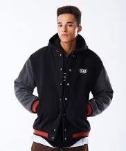[NASTY KICK] [NK]NSTK NARROW VARSITY JACKET